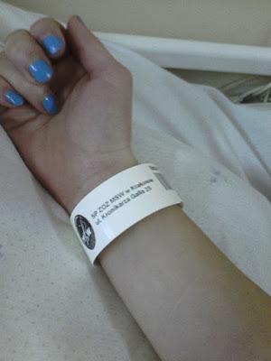 Pierwszy pobyt w szpitalu w ciąży