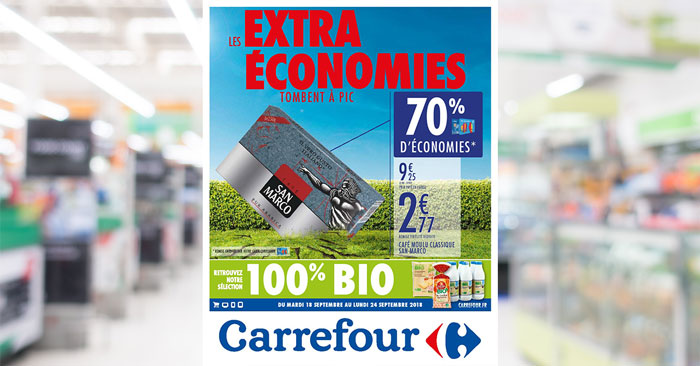 Catalogue Carrefour Du 18 Au 24 Septembre 2018