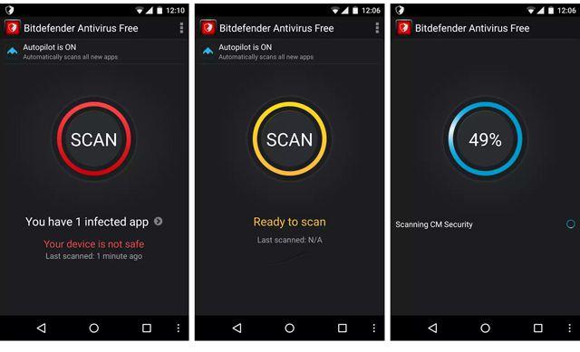 Bit Defender - Android Antivirus