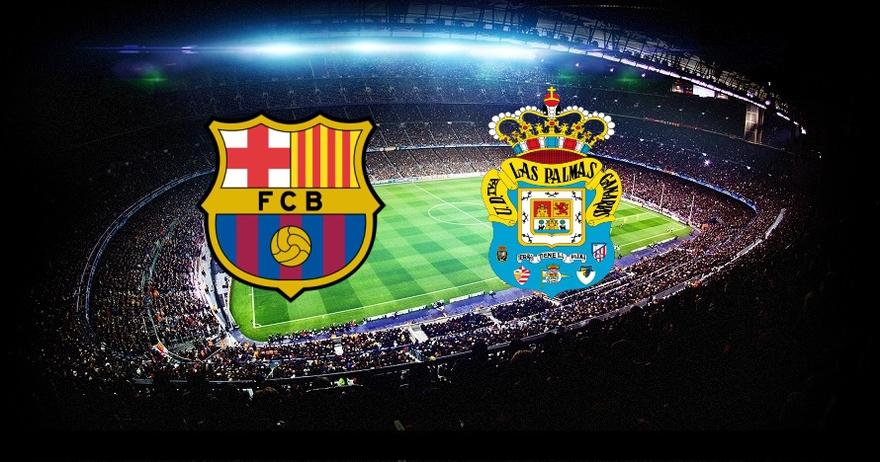 نتيجة مباراة برشلونة ولاس بالماس اليوم السبت 14/1/2017 في الدوري الأسباني  فوز برشلونة بخماسية نظيفة