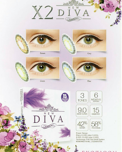 Softlens X2 New Diva