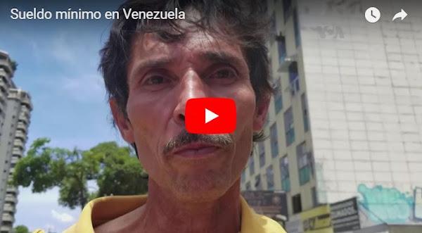 Salario mínimo mensual en Venezuela es de 89 céntimos de dólar