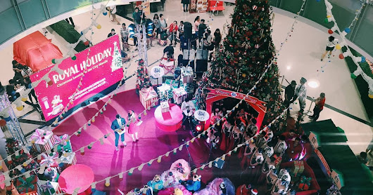 A Royal Holiday spent as SM CITY MANILA kicked-off the Christmas season with an English touch!