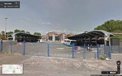 Dworzec autobusowy Rzym Tiburtina