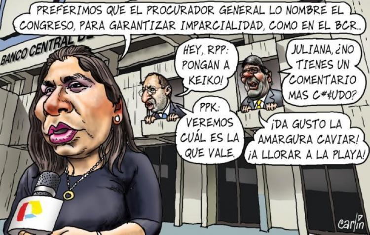 Carlincaturas Lunes 6 Febrero 2017 - La República