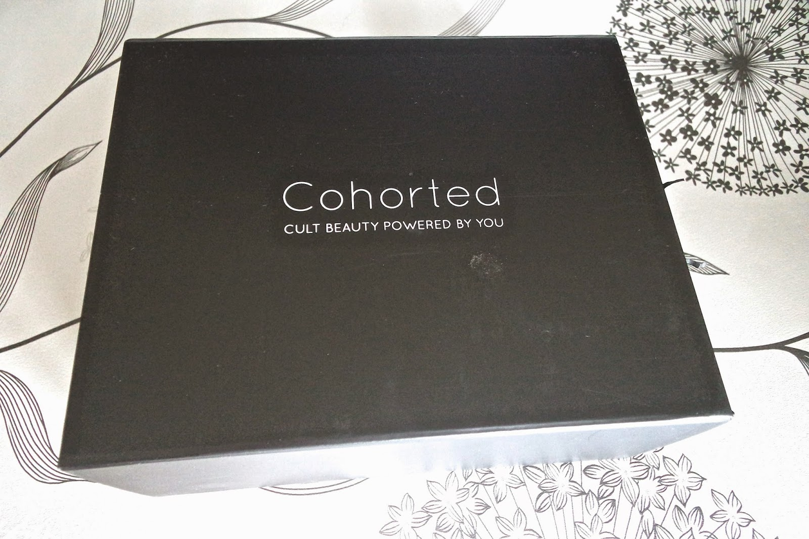 Cohorteds First Beauty Box