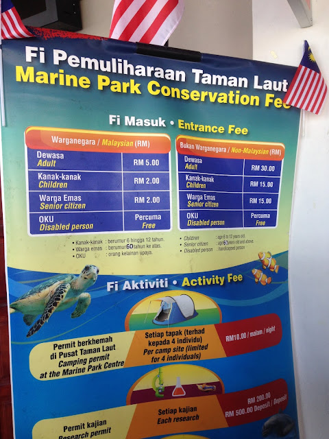 Marine Park Conservation Fee