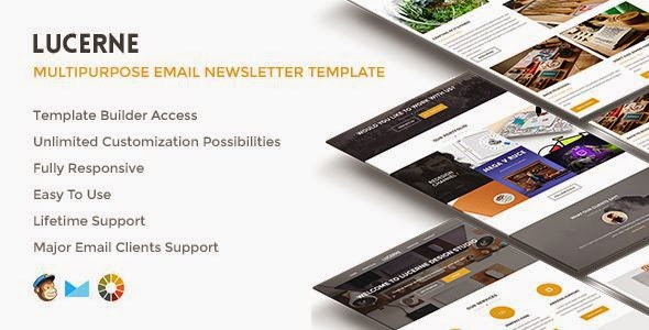 Lucerne - Responsive Email with Builder Access