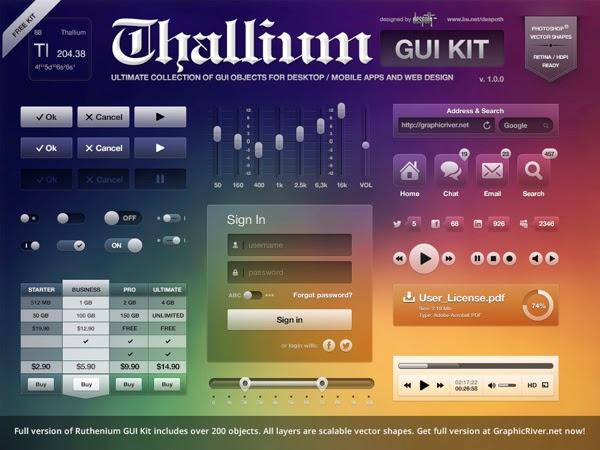 Thallium GUI Kit PSD