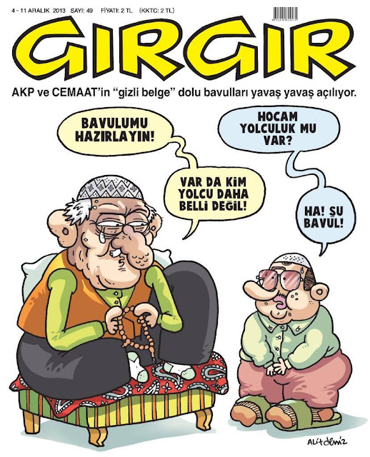 Gırgır Dergisi - 4-11 Aralık 2013 Kapak Karikatürü