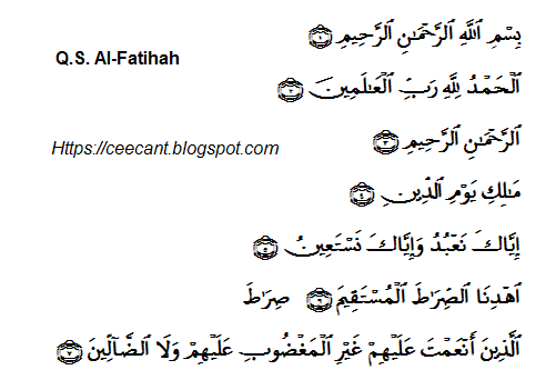 Qs Al Fatihah Ayat 1 7 Lengkap Dengan Arti Dan Isi