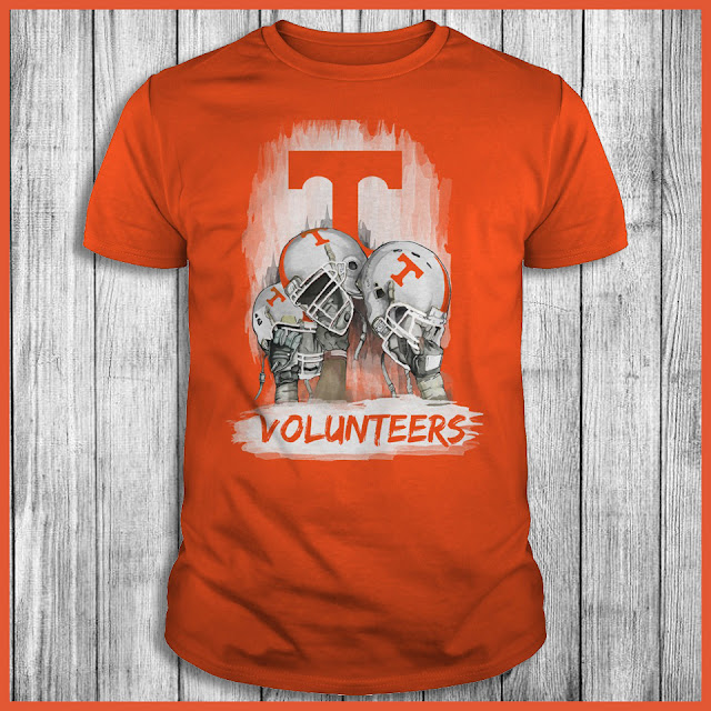Tennessee Volunteers Victory Hand Helmet T-Shirt