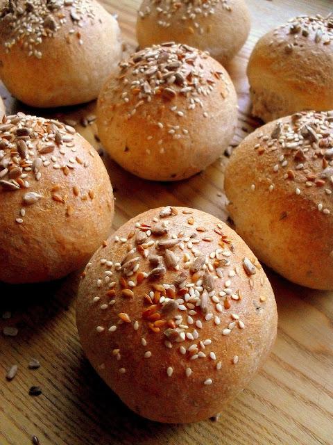 Bułeczki pszenno-orkiszowe / Spelt Wheat Rolls