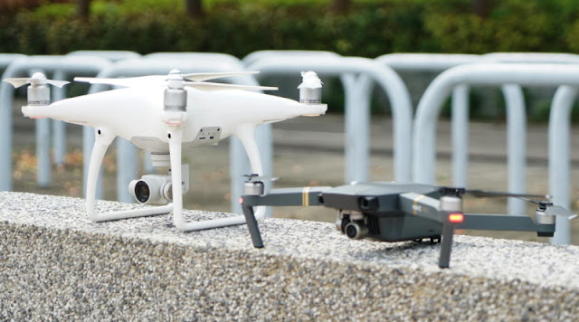 DJI Phantom 4 Pro vs DJI Mavic Pro Comparison : Features and Performance