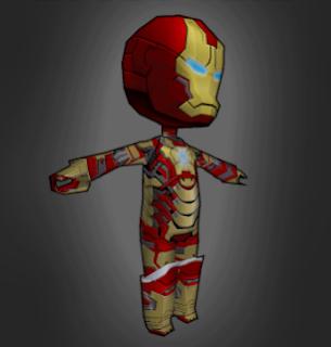 Iron Man Skin AOTTG