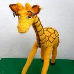 patron gratis jirafa amigurumi | free amigurumi pattern giraffe