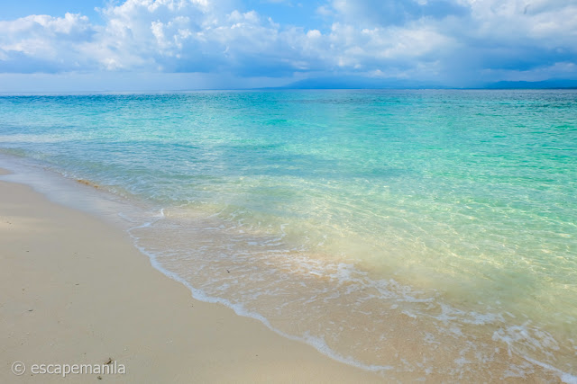 The White Beach in Canigao Island