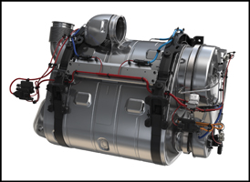 Volvo exhaust aftertreatment system