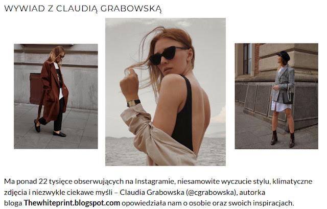 http://issue27.pl/2018/10/26/wywiad-z-claudia-grabowska/