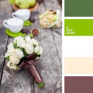 Интерьер: букеты и декор - гармоничные палитры в 5 цветов