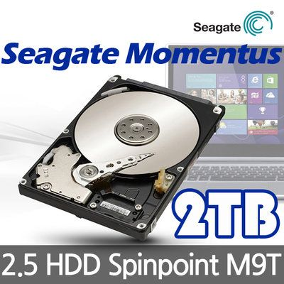 Samsung/Seagate M9T SpinPoint 2TB HDD