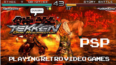 Tekken Dark Resurrection PPSSPP ISO for Android