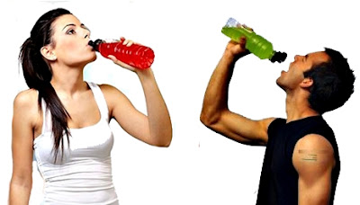 Bebida isotónica hipertónica pesas deportes