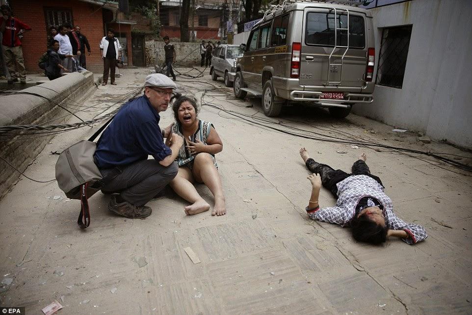 7.8 magnitude razorni potres