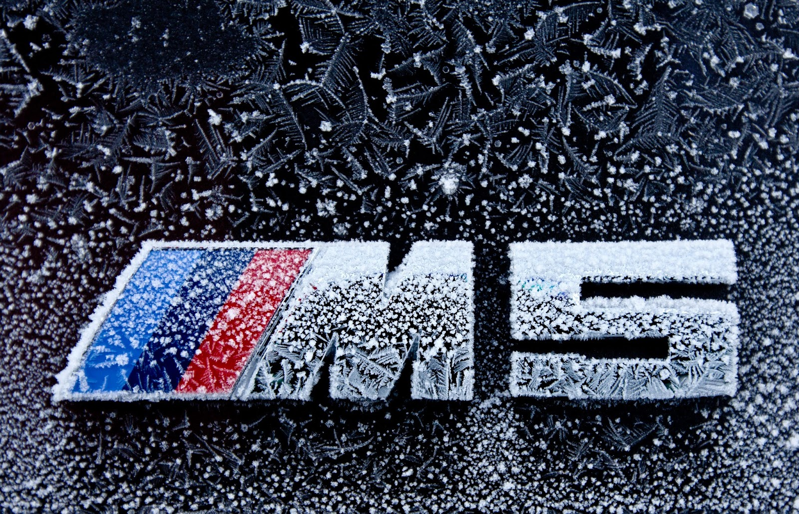 The new BMW M5 Winter