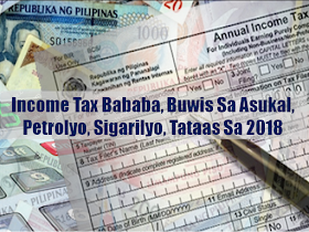 The House of Representatives ratified the bill that will lower the personal income tax while taxes on sweetened beverages, petroleum products, cars and tobacco will be higher. The new tax package is expected to generate ₱134 billion to fund the administration's infrastructure projects, while reducing income tax for the 6.8 million individual income taxpayers has been approved after several meetings of the bicameral  conference committee. The Congress finally approved the consolidated version of the Tax Reform for Acceleration and Inclusion (TRAIN) bill.  Those earning ₱250,000 annually or around ₱22,000 per month will be exempted from paying taxes, including self-employed individuals. The bill also exempts 13th month pay and bonuses amounting to ₱90,000 from taxation.  The new scheme will also lower income tax rates for those earning ₱2 million and below.  Self-employed individuals and professionals may also opt to pay eight percent of their annual income tax, instead of scheduling tax returns every quarter.  President Rodrigo Duterte called the tax reform package as one of the urgent bills to pass in Congress. The President should receive the consolidated version of the bill for veto or approval before it takes effect. Higher petroleum taxes  The bill also provided for varied tax increases in petroleum products, while keeping to a minimum the increase in liquefied petroleum gas (LPG), diesel, and gasoline.  According to the Finance Department, the two million richest Filipino families consume 50 percent of oil products in the country.  The bicameral conference committee spread the ₱3 rate increase for LPG over three years—a peso per year increase from 2018 to 2020.  The proposed increase in diesel and bunker fuel—mostly used for public transportation—will be collected in 3 tranches: ₱2.50 next year, ₱4.50 in 2019 and ₱6 in 2020.  Sponsored Links  More environment-friendly tax scheme?  The consolidated TRAIN bill also provided for a four-tier tax scheme, to accommodate the around 80 percent of Filipino households who do not own cars.  Electric vehicles shall be exempt while hybrid cars will be taxed at half the rates, to encourage greener and cleaner transportation. Pick-up trucks will be exempt as well, as the bill notes they are commonly used by businessmen and entrepreneurs for commercial and agricultural purposes.  Cars priced up to ₱1 million will be charged 10 percent tax. Those worth more than ₱1 million will taxed at a 20 percent rate, while cars priced up above ₱4 million will be taxed 50 percent.  The bill will also increase coal excise tax from ₱10 per metric ton to ₱150 per metric ton in a span of three years. The increase will be in increments of ₱50, starting from ₱50 in 2018.  The excise tax rates for all non-metallic minerals and quarry resources, and all metallic minerals were also raised from the current two percent to four percent. Sugar, tobacco, and cosmetic taxes  The consolidated TRAIN bill imposed a tax of ₱6 per liter for beverages using caloric and non-caloric sweeteners, and ₱12 per liter for beverages using high fructose corn syrup.  All milk and coffee products are exempted from sugar tax, as well as natural fruit and vegetable juices and meal replacements. Medically-indicated beverages would not be taxed as well.  Meanwhile, tobacco excise taxes will be raised in phases at ₱2.50 per annum—starting at ₱32.50 next year.  Cosmetic surgeries and enhancements for aesthetic reasons will also be imposed a five percent excise tax, which was down from the proposed 20 percent. VAT exemptions  The TRAIN bill, however, exempts small businesses with total annual sales of ₱3 million and below from VAT. This, as small and micro businesses represent 98 percent of all registered businesses in the country.  VAT exemptions for raw food or agricultural products, health and education, as well as of senior citizens, Persons with Disability (PWDs), business process outsourcing (BPOs), and cooperatives will be retained.  The sale of prescription drugs and medicines prescribed for diabetes, high cholesterol, and hypertension will be VAT-free starting 2019.  Source: CNN     Advertisement  Read More:                 ©2017 THOUGHTSKOTO  www.jbsolis.com   SEARCH JBSOLIS, TYPE KEYWORDS and TITLE OF ARTICLE at the box below