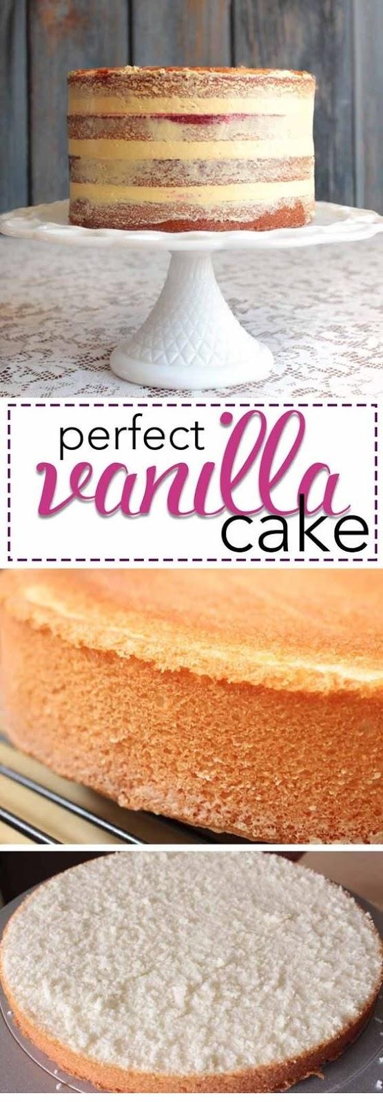 Kara's Perfect Vanilla Cake