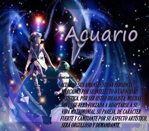 Llamada al amor amor seg n tu signo acuario for Horoscopo para acuario