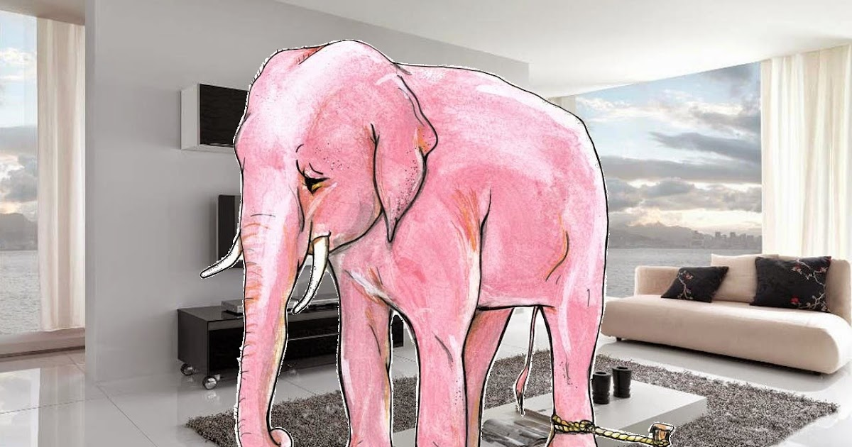 Contemporary Elephant Living Room Ornament - Living Room Designs ...