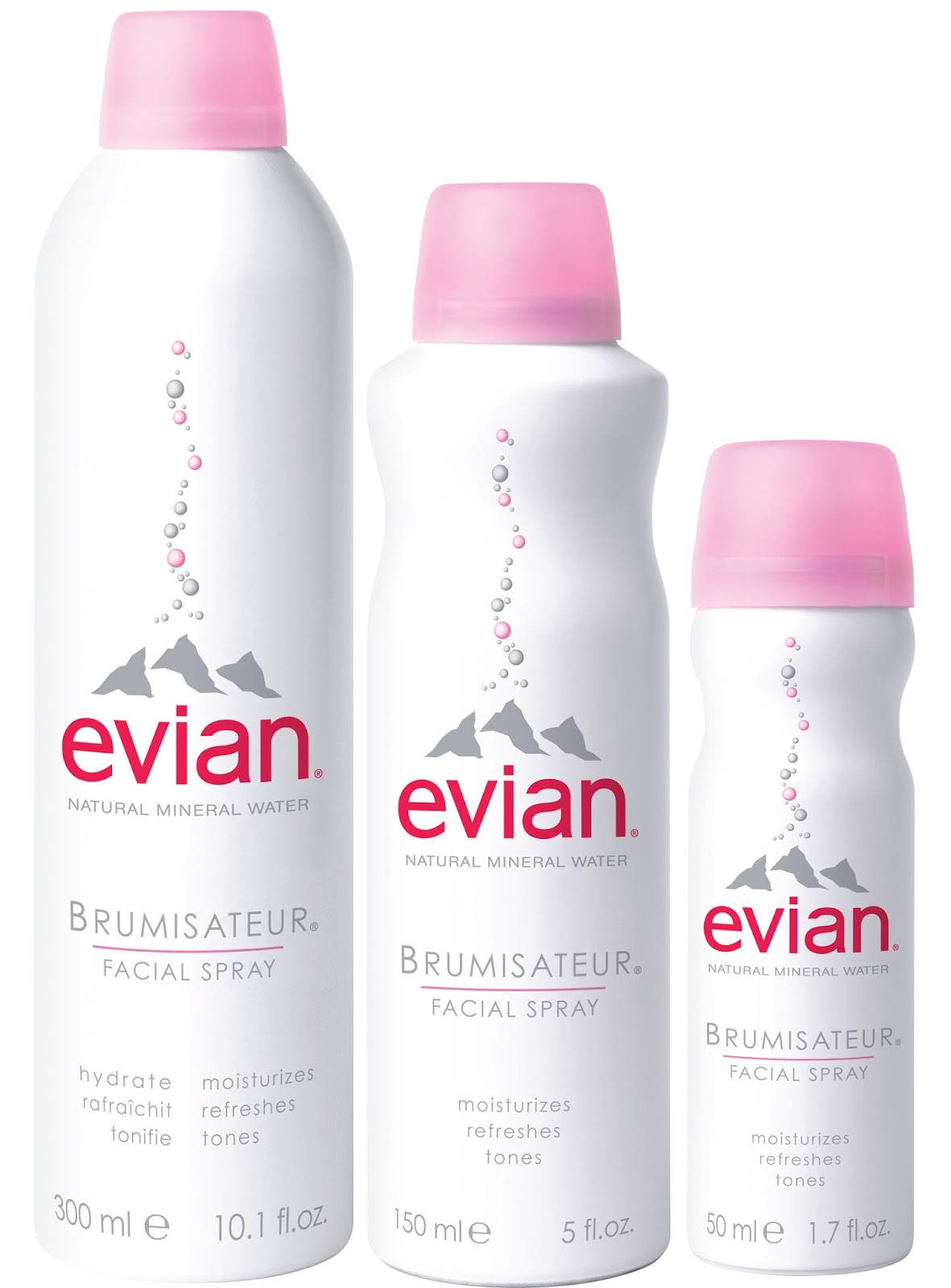 Evian mist facial spray