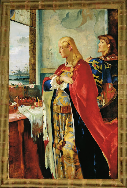 Agnes Slott-Møller: Dronning Margrete I