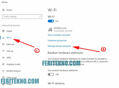 Cara Forget Password Wifi di Windows 10 Terbaru 2