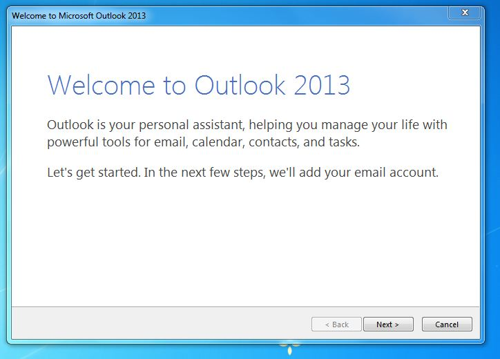 Cara Setting Email Zimbra di Ms Outlook ~ Kita & Semua