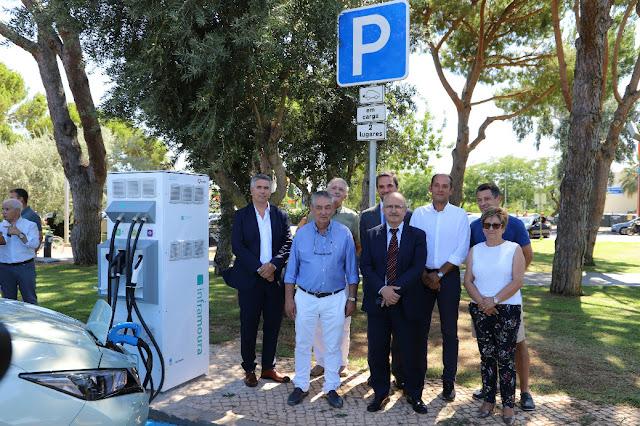 Inframoura inaugurou rede de carregamento de veículos elétricos de Vilamoura