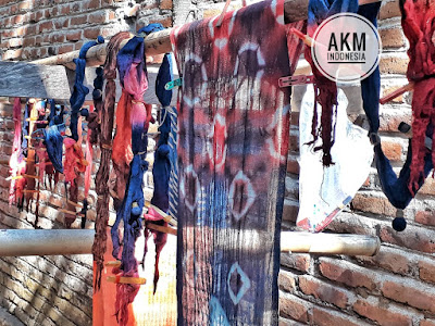 Batik Jumputan Dusun Sejati Deso Yogyakarta