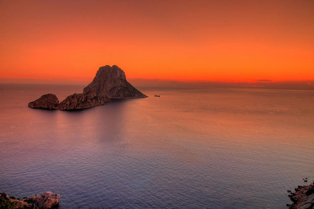 Ilha de Es Vedrá em Ibiza