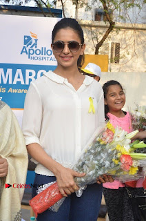 Actress Rakul Preet Singh at Endometriosis Awareness Walk at Apollo Cradle  0056.jpg