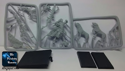 Orion, King in the Woods resin kit review 2