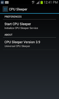 CPU Sleeper aplikasi android