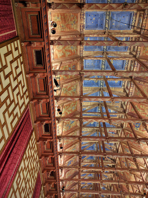 The ceiling of the Stockholm City Council Chamber
