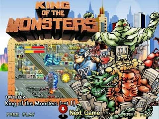 King of the Monsters ( Arcade )