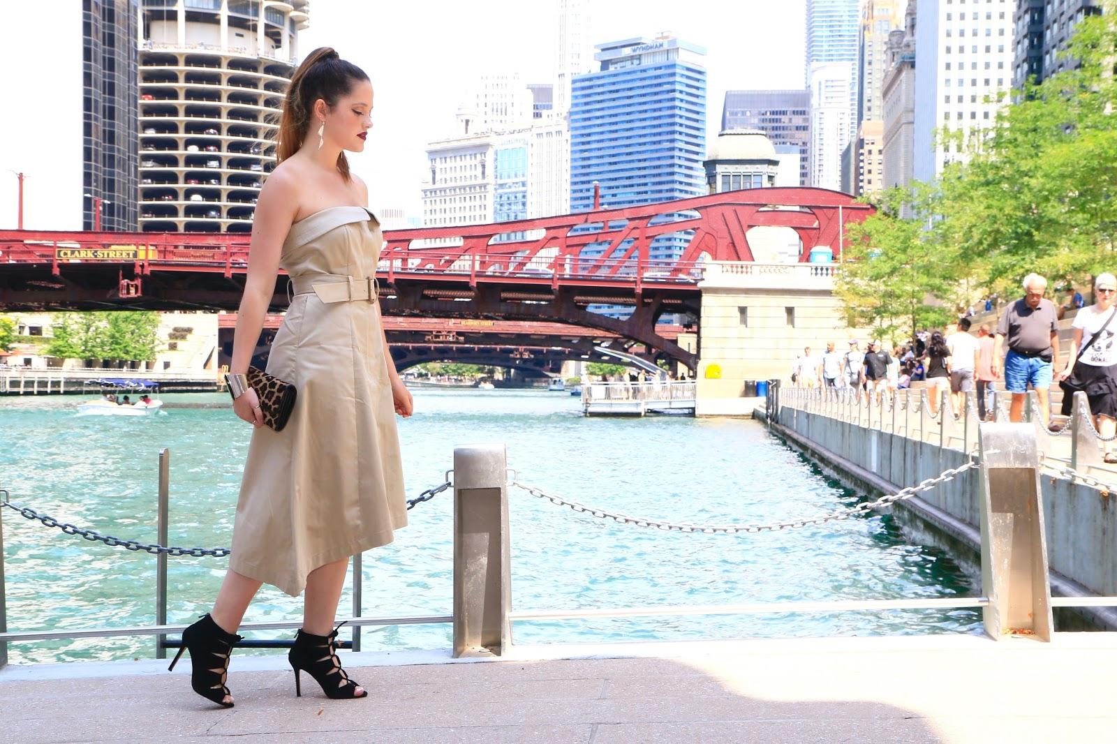 NYC Fashion blogger Kathleen Harper showing date night ideas