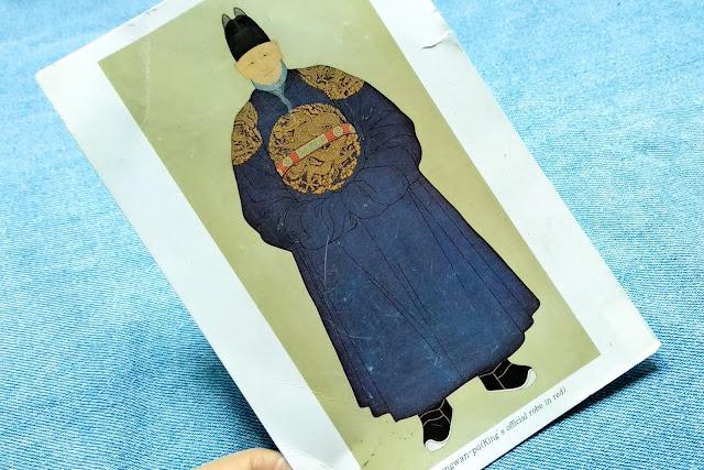 kartu pos hanbok korea