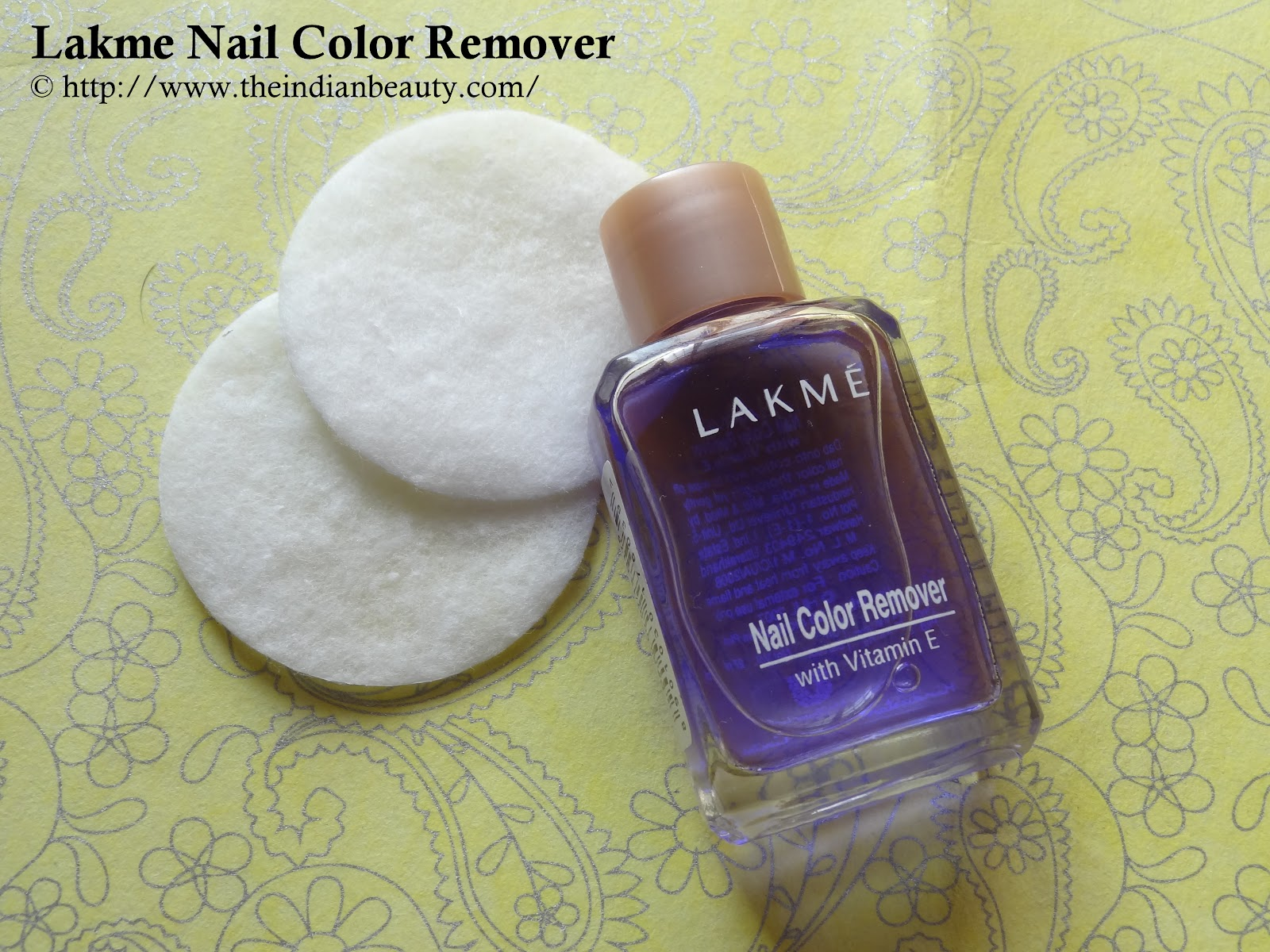 Lakme Nail Color Remover Review Demo The Indian Beauty Blog