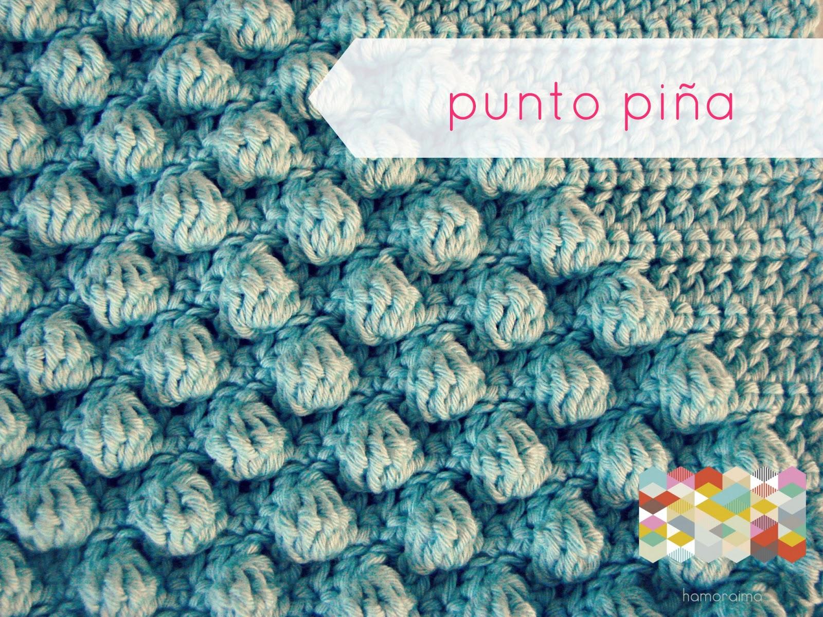 Bonito Patrón De Crochet Piña Foto - Manta de Tejer Patrón de Ideas ...