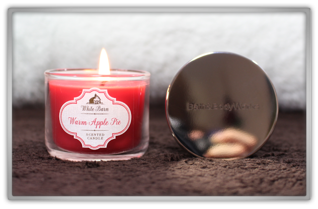 Bath & Body Works Delicious Cozy Winter Haul and Review mini warm apple pie candle fall beauty blog blogger cozy favorites